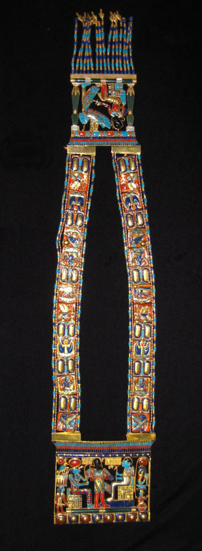 Osiris Pectoral Necklace of Tutankhamun