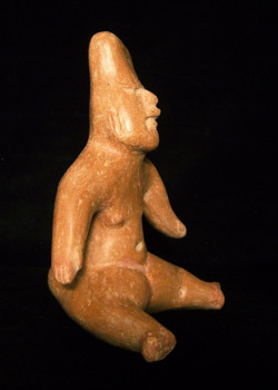 Olmec Seated Figure