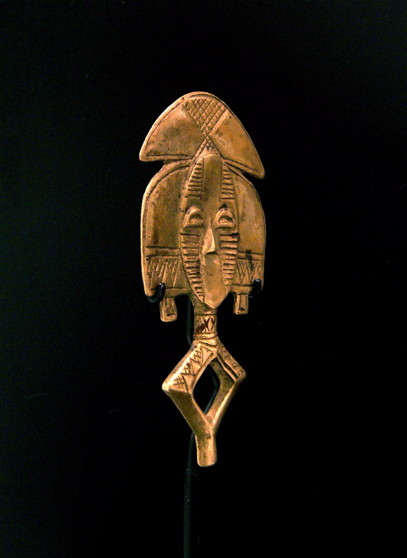Brass Sculptural Element from a Reliquary Ensemble