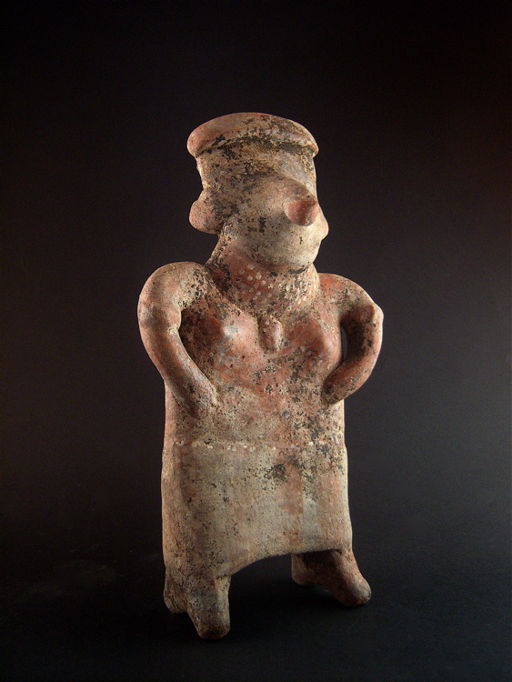 Standing Nayarit Female Figure