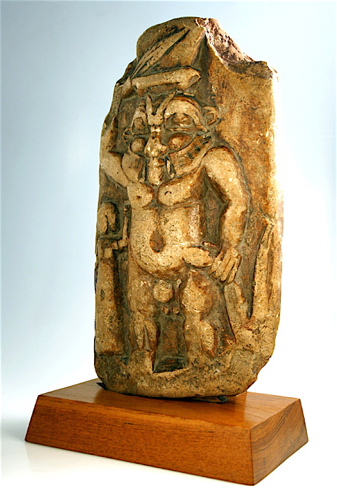 Egyptian Sandstone Figure of the God Bes