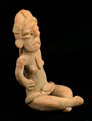 Xochipala Terracotta Seated Figurine