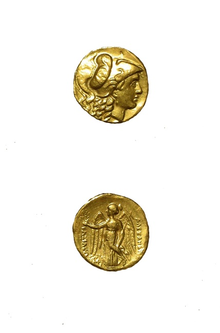 Macedonian Gold Stater of King Alexander the Great