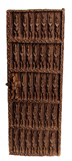 Dogon Wooden Granary Door