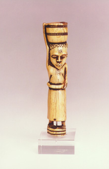 Yombe Ivory Sculpture of a Woman