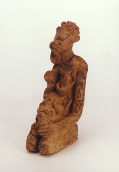 Djenne Terracotta Sculpture of a Priestess