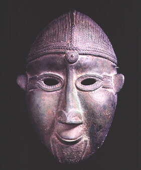 Dogon Bronze Face Mask