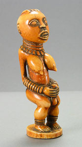 Bangwa Ivory Sculpture of a Queen Mother