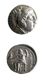 Macdonian Silver Tetradrachm of Alexander the Great