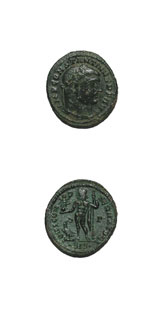 Bronze Follis of Emperor Constantine I the Great