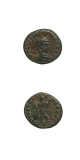 Bronze Coin of Caesar Licinius Junior