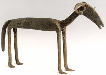 Dogon Iron Sculpture of a Ram