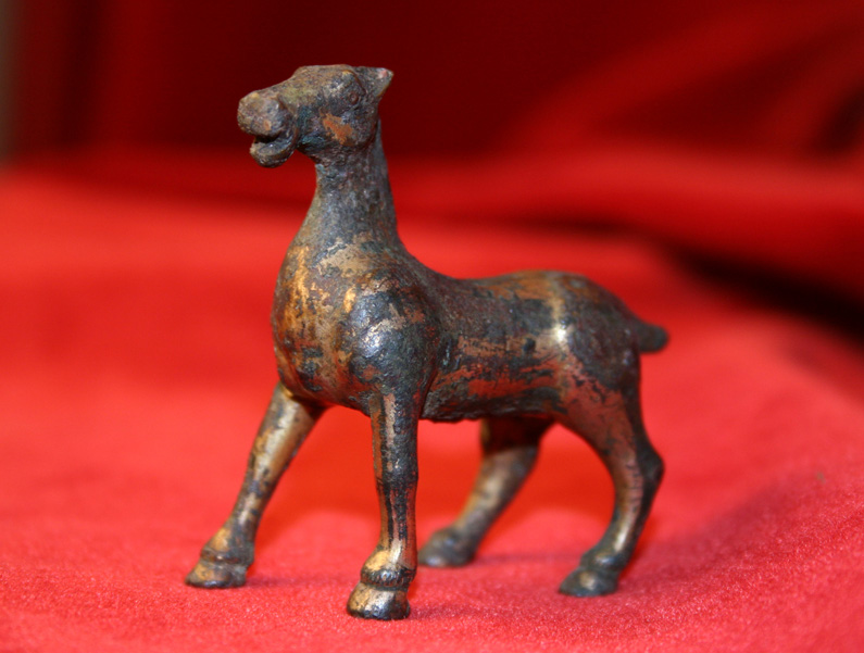 Warring States/Han Dynasty Gilt Bronze Horse