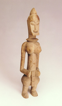 Senufo Wooden Sculpture of a Woman