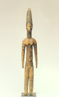 Igbo Wooden Alusi Sculpture