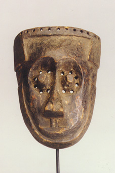 Kuba Wooden Pwoom Itok Mask