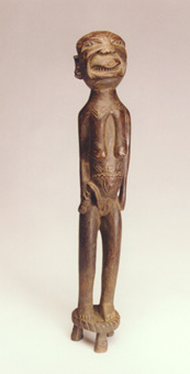 Makonde Wooden Sculpture of a Woman