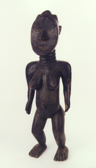 Toma Wooden Sculpture of a Woman