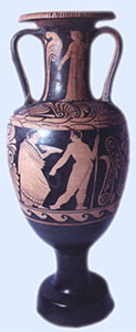 Campanian Red-Figure Amphora