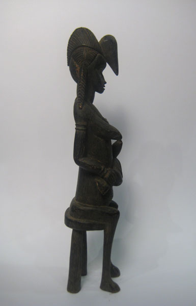 Senufo Wooden Fertility Sculpture