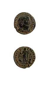 Bronze Coin of Emperor Licinius