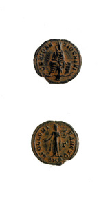 Bronze Coin Minted During the Great Persecution