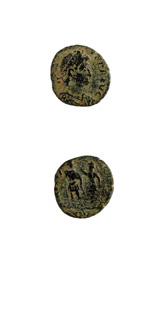 Bronze Coin of Emperor Gratian