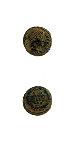 Bronze Coin of Emperor Constans