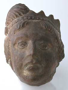Terracotta Mask of a Ptolemaic King