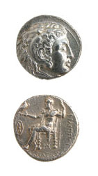 Silver Tetradrachm of King Philip III Arrhidaeus