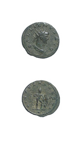 Bronze Antoninianus of Emperor Gallienus