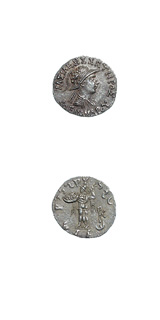 Indo-Greek Silver Drachm of King Menander