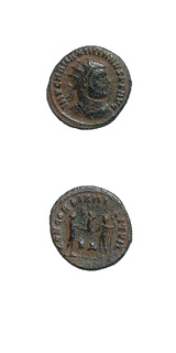 Bronze Radiate of Emperor Maximianus