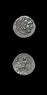 Silver Drachm of King Alexander the Great