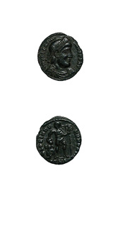 Bronze Coin of Emperor Valentinian I