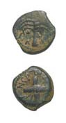 Bronze Prutah of the Procurator of Judea <i>Antonius Felix</i>