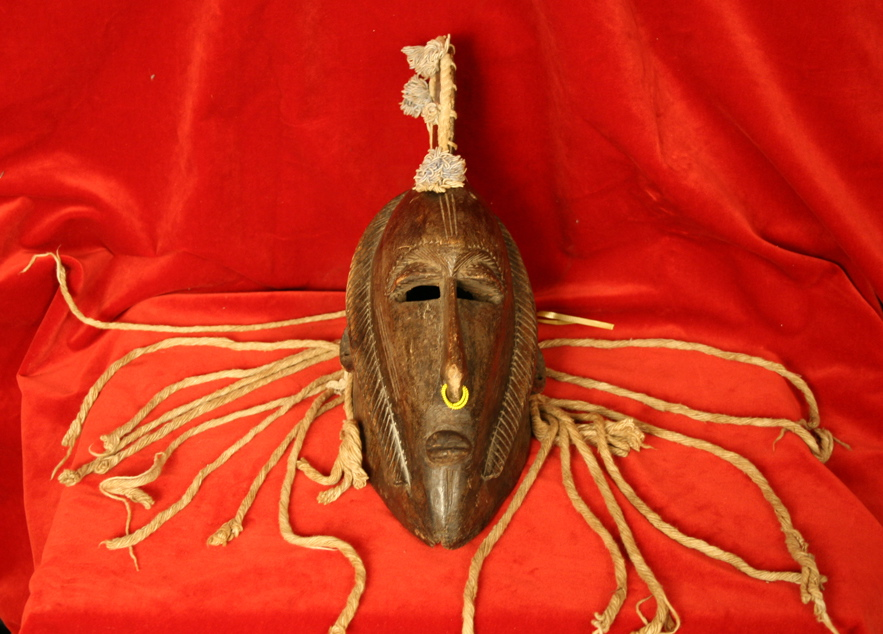 Marka Wooden Ceremonial Mask
