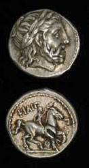 Silver Tetradrachm of King Philip II
