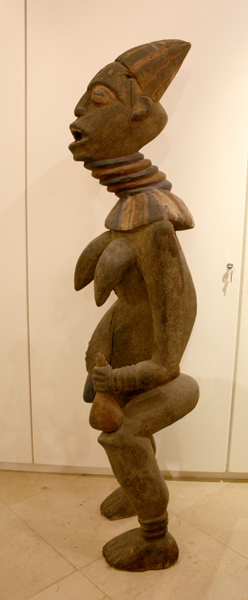 Bangwa Sculpture of a Dancing Queen