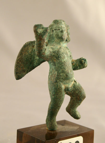 Roman Bronze Sculpture of Cupid