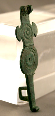 Roman Bronze Hasp for a Chest