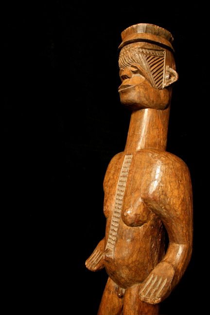 Igbo Wooden Figure