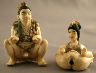 Chinese Netsuke-Style Erotic Couple
