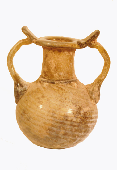 Late Roman Honey Glass Sprinkler