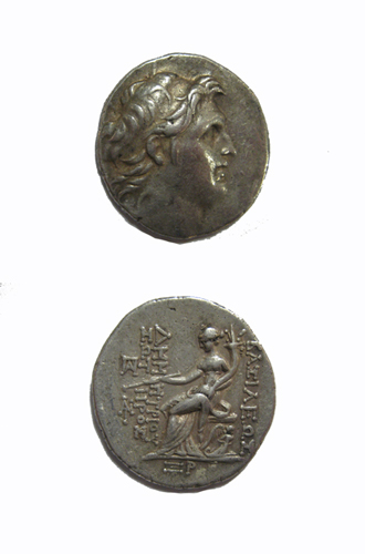 Seleucid Silver Tetradrachm of King Demetrios I