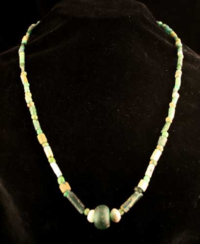 Roman/Byzantine Glass Bead Necklace
