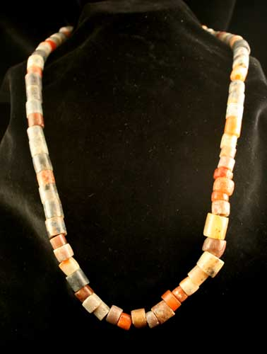 Chavin Agate Bead Necklace