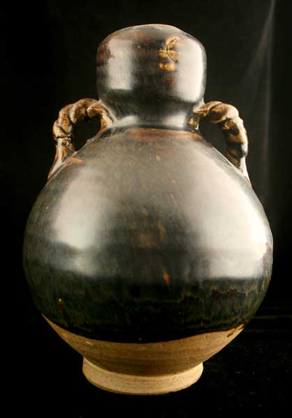 Song Brown-Glazed Terracotta Vase