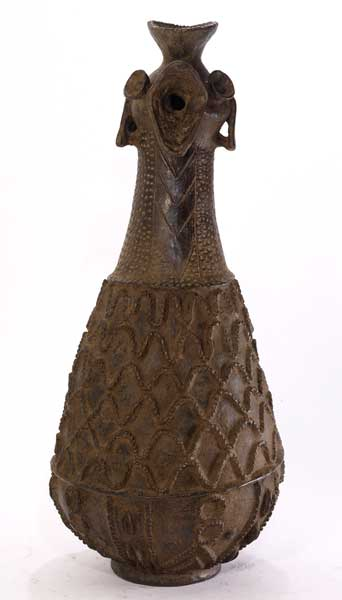 African Pottery Figure