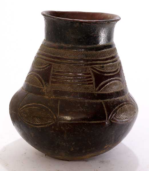 Songye Terracotta Storage Vessel